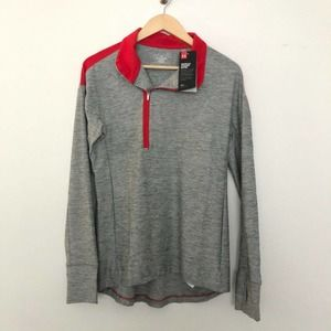Under Armour Loose Half Zip Pullover Sweater Small